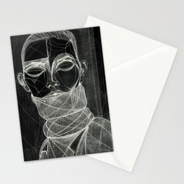 Alisa Ahmann by Txema Yeste (B) - Artist: Leon 47 ( Leon XLVII ) Stationery Cards