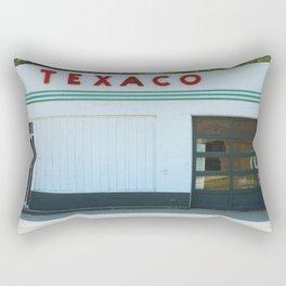 Texaco Gas Station Rectangular Pillow