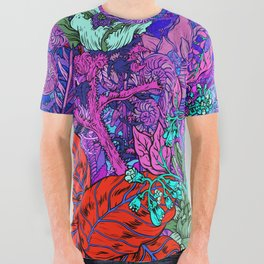 Electric Garden All Over Graphic Tee