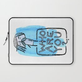 Who are you? Laptop Sleeve