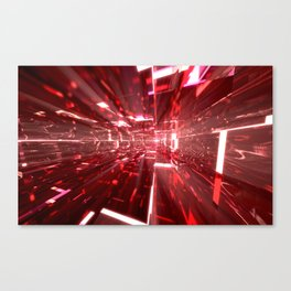 Ruby Tunnels Canvas Print