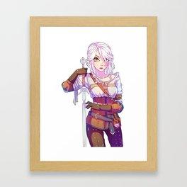 The Witcher 3 - Cirilla Framed Art Print