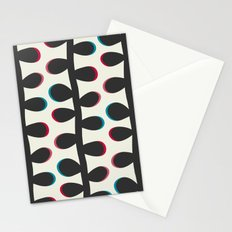Like a Leaf [black] Stationery Cards