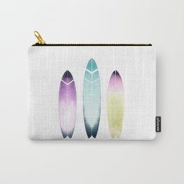 Tribal Surfboards - Colorful Surfart Carry-All Pouch
