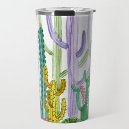 Succulent Happy Garden Travel Mug