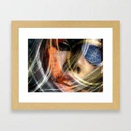 Celebrity Row - Billie Framed Art Print