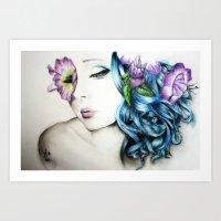 perfume Art Prints featuring Perfume  by KhalilKhalidy