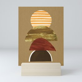 Burnt Hills Sunset Mini Art Print