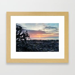 Jekyll Island Sunrise Framed Art Print