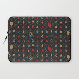 What conceals in the flames Laptop Sleeve