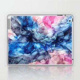 Soul Explosion- vibrant abstract fluid art painting Laptop & iPad Skin