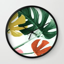 Urban jungle Wall Clock