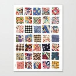 UPPERCASE feedsacks Canvas Print