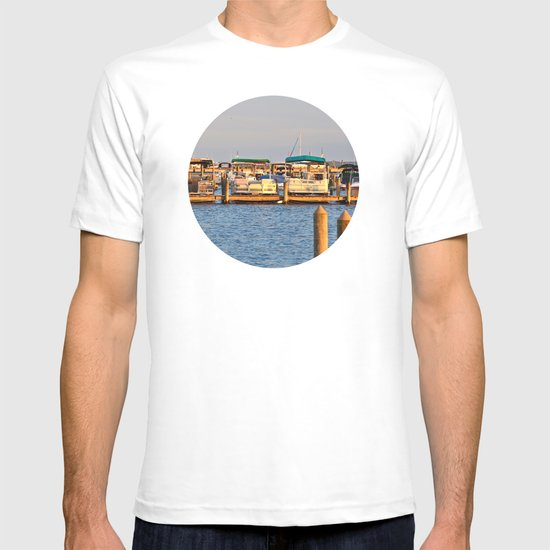 Docked Boats  T-shirt