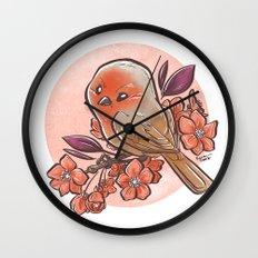 Spring Bird Wall Clock