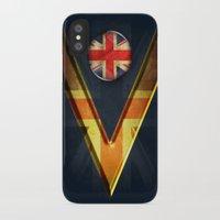 british iPhone & iPod Cases featuring British by ilustrarte