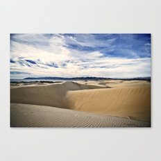Sand Dunes and Ocean Views Canvas Print