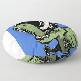 VR T-rex Floor Pillow