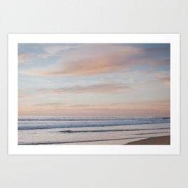 Soothing Waves Art Print