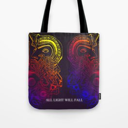 ALL LIGHT WILL FALL - Lineage design  Tote Bag