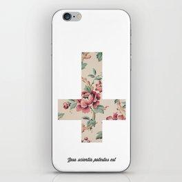 Flower Cross iPhone Skin