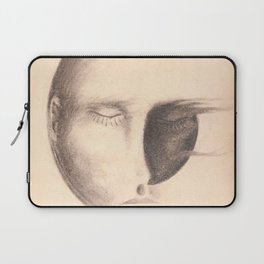 Shadow man Laptop Sleeve