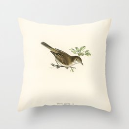 European Golden-Plover (charadrius pluvialis apricarius) illustrated by the von Wright brothers Throw Pillow