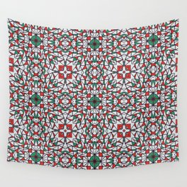 Doodle Pattern 16 Wall Tapestry