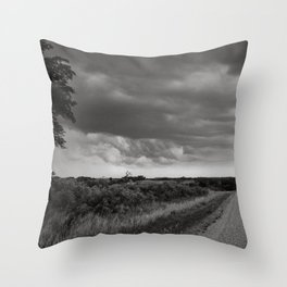 Midwest Storm Throw Pillow