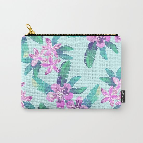 Tahitian Garden {D} Carry-All Pouch