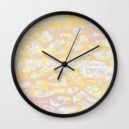 Baesic Wet Paint Gold Wall Clock