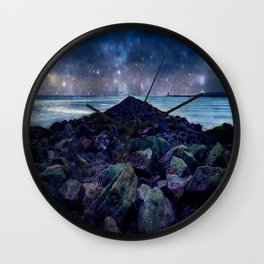 Rocky Road to Eternity Wall Clock