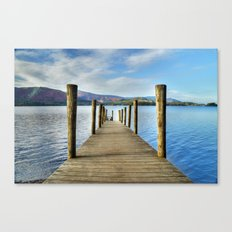Derwent Water Pier Canvas Print
