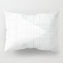 In The Flow - Geometric Minimalist Grey v2 Pillow Sham