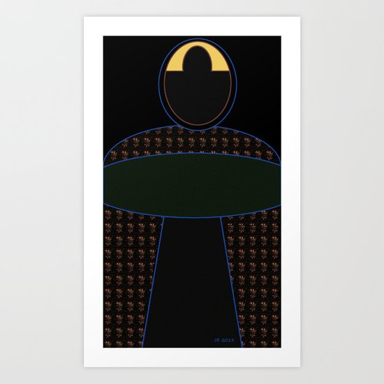 The Black Madonna of Tarsus Art Print
