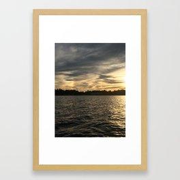 Lake Martin Rainbow Framed Art Print