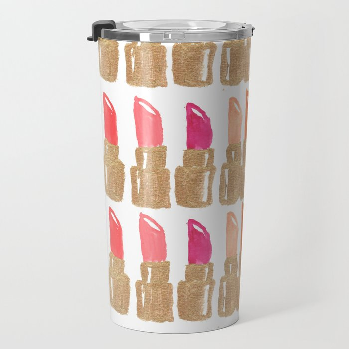 Lipstick! Travel Mug