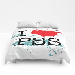 I Love Paesello Comforters