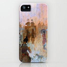 How we lost poor Flossie - Digital Remastered Edition iPhone Case