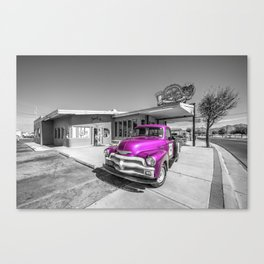 Pink D'z  Canvas Print