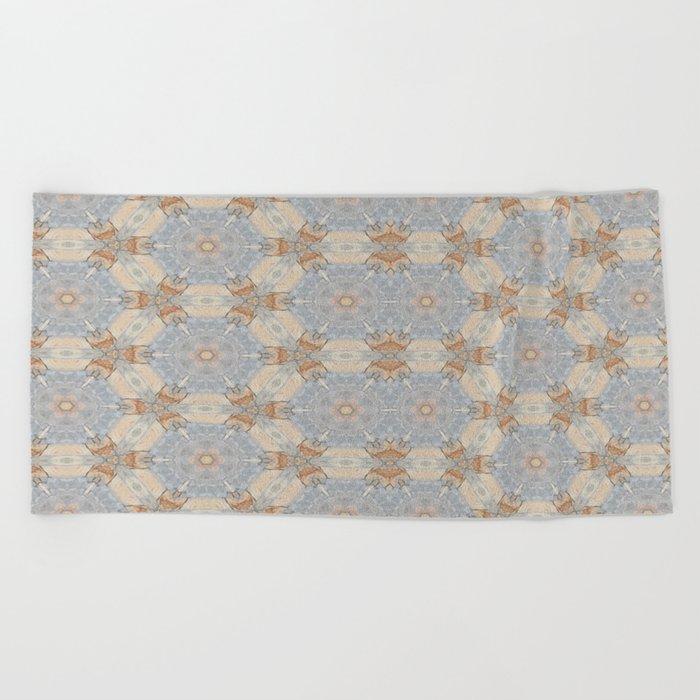 The Alamo Kaleidoscope DNA 6390 Beach Towel