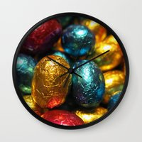 easter Wall Clocks featuring Easter by habish