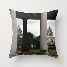 Royal Naval College Throw Pillow