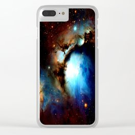 Galaxy Nebula : Messier 78 Clear iPhone Case