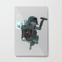 The Brave Metal Print