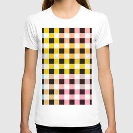 Colorful Checker 05 T-shirt