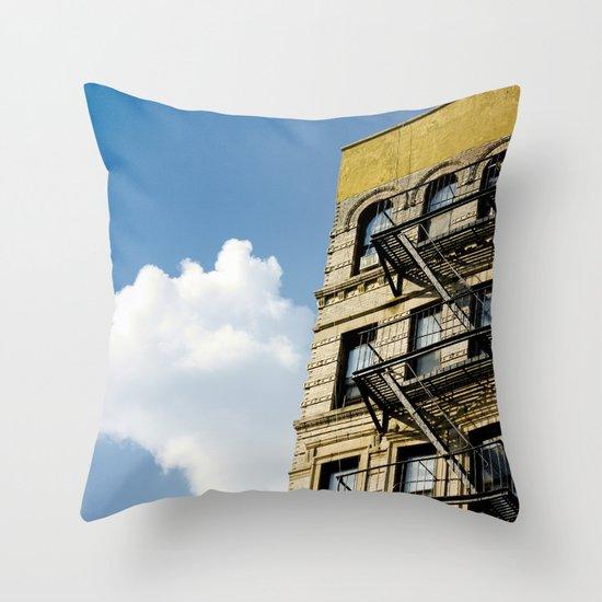 Sunday morning Throw Pillow