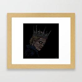 Ravenna • Evil Queen • Charlize Theron Framed Art Print