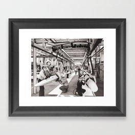 Star Wars factory Framed Art Print