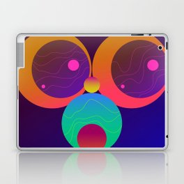 Monkey Planets (1/2) Laptop & iPad Skin